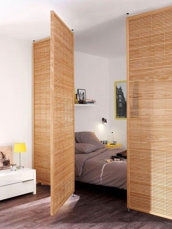 lakberendező, belsőépítész, bambusz paraván, Elszigetel és összeköt - a lakberendező szerint