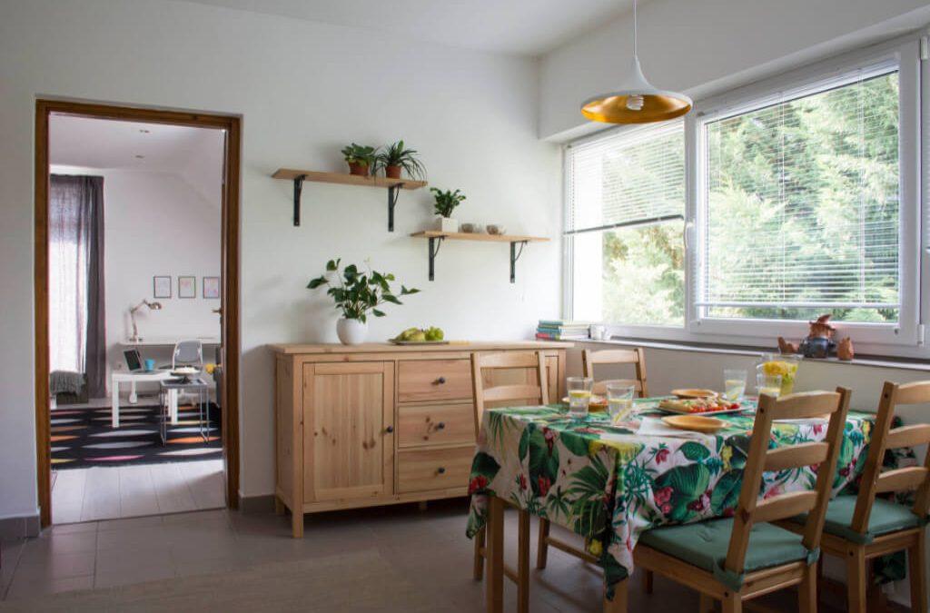 Társasházi lakás home staging