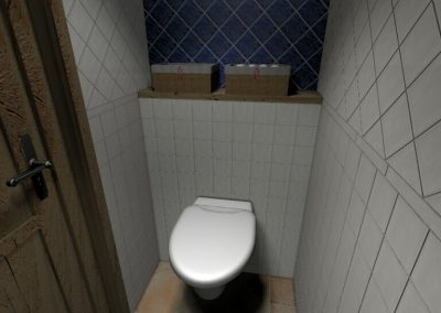 Férfi WC
