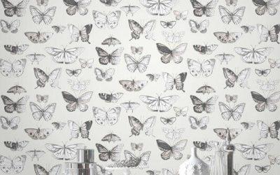 Pillangó szimbólum a lakberendezésben
