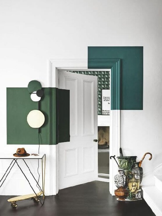falfestés, beltéri ajtó lakberendező, belsőépítész, Elszigetel és összeköt - a lakberendező szerint