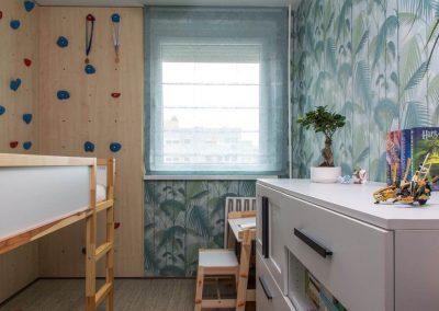 Gyerekszoba panel lakásban